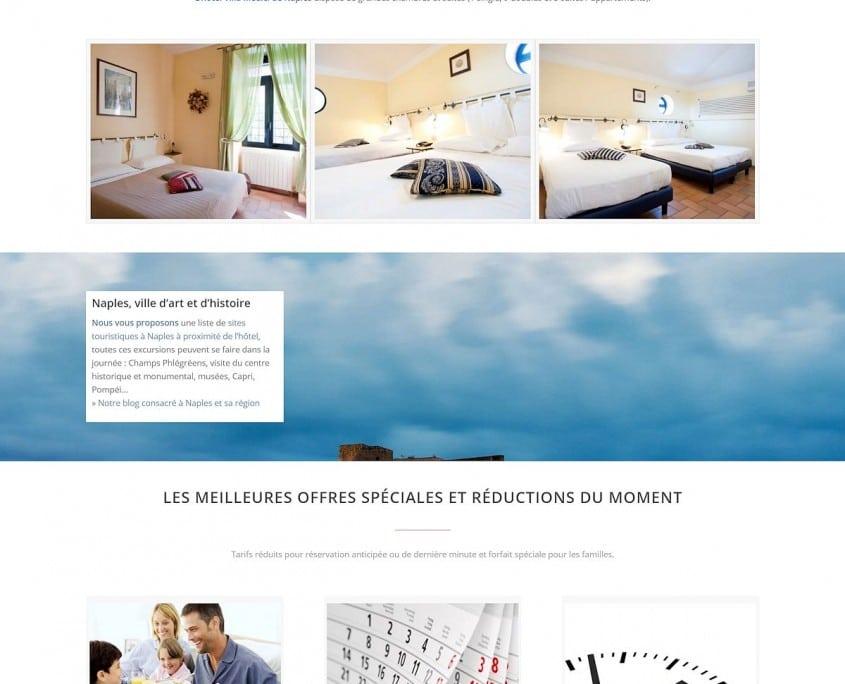 Portfolio Hotel Villa Medici : accueil mid