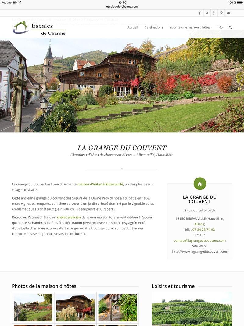Maison d'hotes Alsace : haut