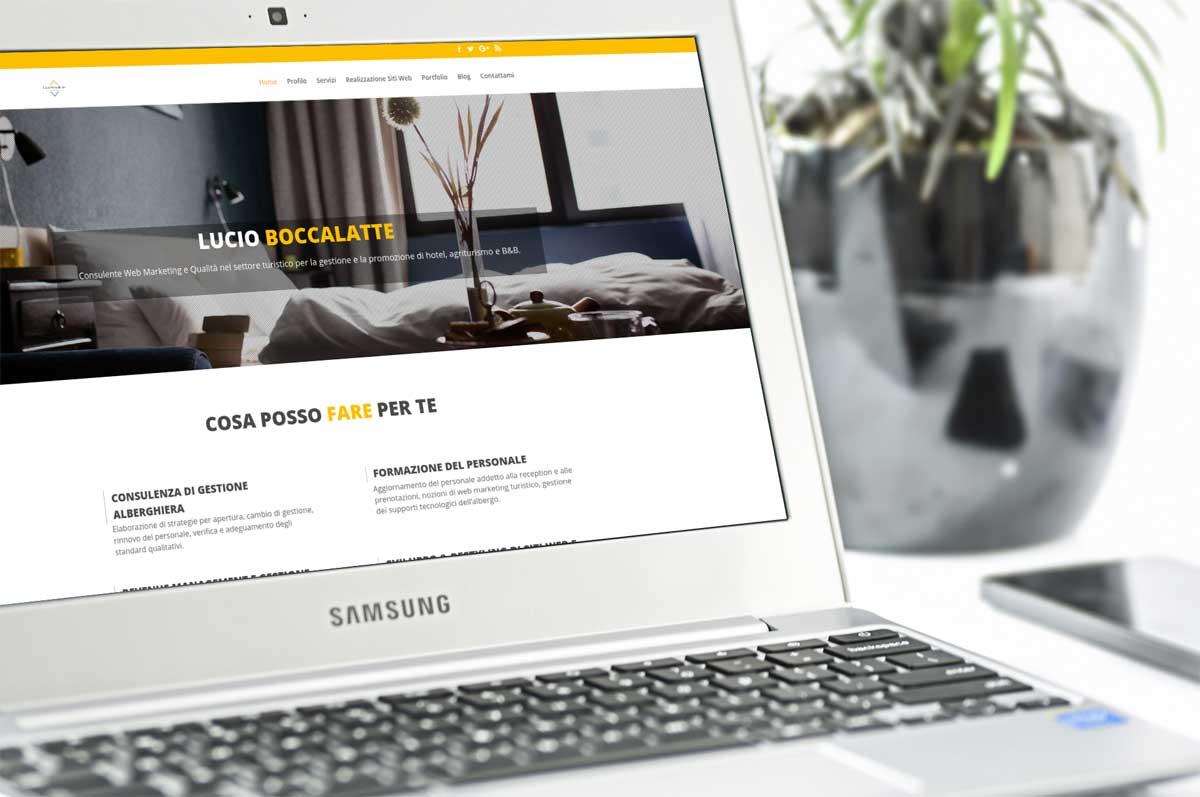 Portfolio : Consultant hotellerie (macbook)