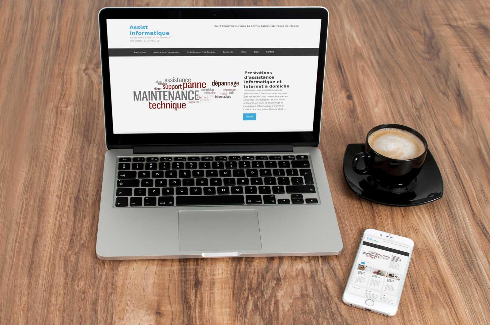 Création de site Internet hotel et restaurant